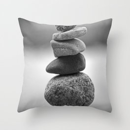 the delicate Throw Pillow