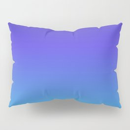 Hipster deep sea gradient Pillow Sham