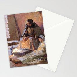 The Nativity By Gari Melchers Stationery Cards