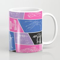 ships Mugs featuring Ships by Dorothy Leigh