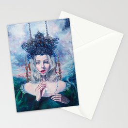 Self-Crowned Stationery Cards