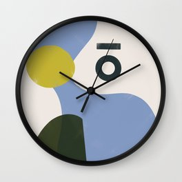 Branded Abstract 3 Wall Clock