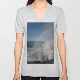 Sea Spray Rainbow Unisex V-Neck