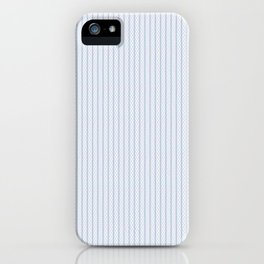 Aqua & Purple Tubular Tangled Lines Pattern iPhone Case