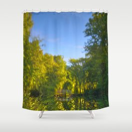 Jean-Drapeau Pond Shower Curtain