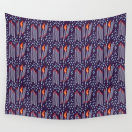 matches vs splashes Wall Tapestry
