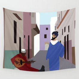 Melody in the alley  Wall Tapestry