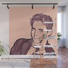 Federico Garcia Lorca Wall Mural