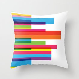sexy colors Throw Pillow