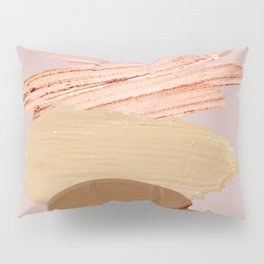 Makeup Illustration  Pillow Sham