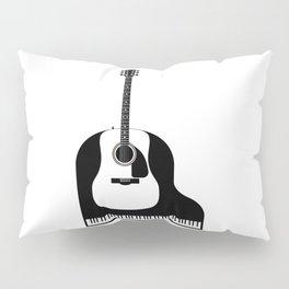 Piano and Guitar Pillow Sham
