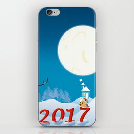 Join the spirit of Happiness iPhone Skin