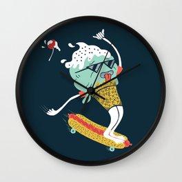 Sundae Mass Wall Clock