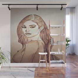 Gigi Hadid by Double R Wall Mural