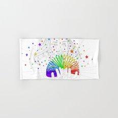 Rainbow Spring - Colors Decompressed Hand & Bath Towel