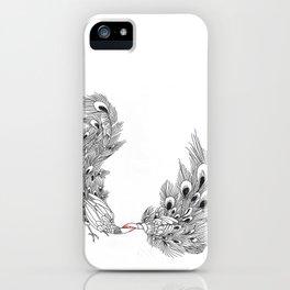 Peacock III iPhone Case