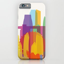 Shapes of Singapore. iPhone Case