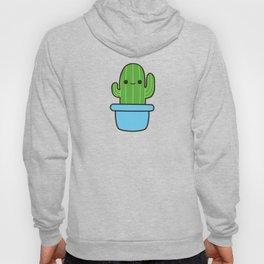 Cute cactus in blue pot Hoody