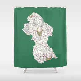 Guyana Shower Curtain
