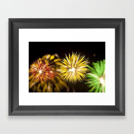 Efflorescence 31 Framed Art Print