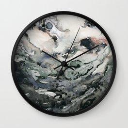 Dark Geode Wall Clock