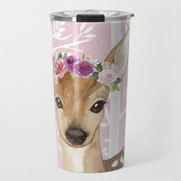 Animals in Forest - The Little Deer Travel Mug