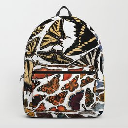 Butterflies of North America Backpack
