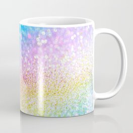 rainbow glitter Coffee Mug