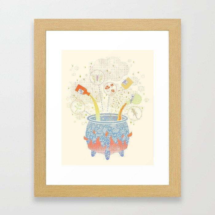 Dream Potion Framed Art Print