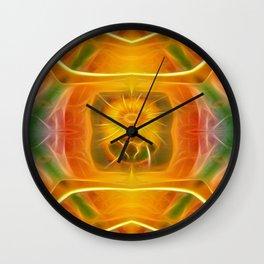 Tarot card XIX - The Sun Wall Clock
