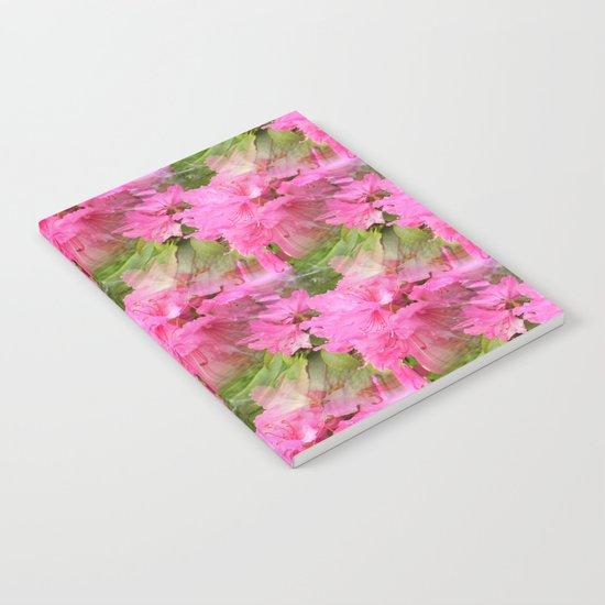 Azaleas in Pink... Notebook