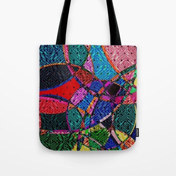 Festival Knit Tote Bag