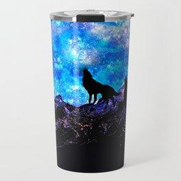 Wolf Trio Travel Mug