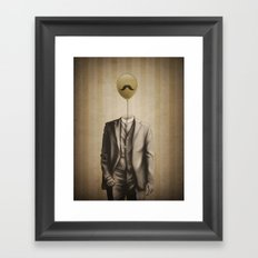 Mr. Whiskers Framed Art Print