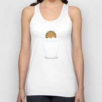 hot Tank Tops featuring Hot Tub Cookie by Teo Zirinis