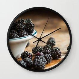 Rubus Occidentalis Wall Clock