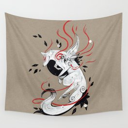 OKAMI RIBBONS Wall Tapestry