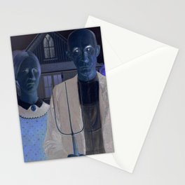 American Gothic REMIXED Stationery Cards