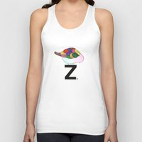 "dragonball z Tank Tops featuring ""z?"" by deolinda"