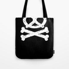 Pretz-Skull and Crossbones Tote Bag