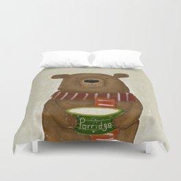 breakfast for bears Duvet Cover