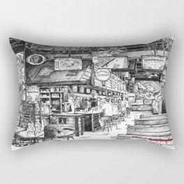 The Front Bar Rectangular Pillow