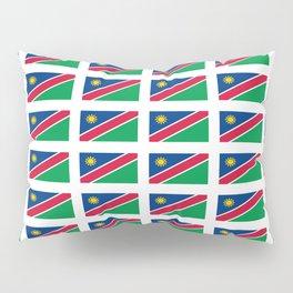 Flag of namibia-namibia,namibian,Windhoek,namibio,Namibiese. Pillow Sham