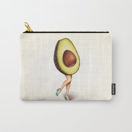 Avocado Girl Carry-All Pouch