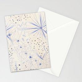 bleu craie Stationery Cards