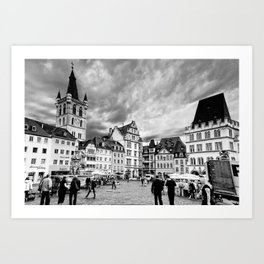 Trier, Oldest City in Germany. Art Print