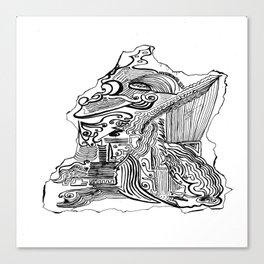 Encre de Chine 2009 Canvas Print
