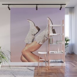 These Boots - Glitter Miami Vibes Wall Mural