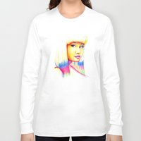nicki Long Sleeve T-shirts featuring Nicki by Jaimie