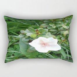 soft pink flower Rectangular Pillow